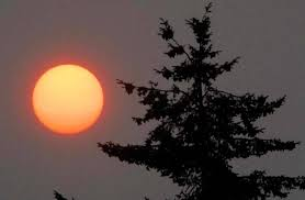 Wild Fires In Bc Right Now by Wildfire Smoke Summer Heat Cover North Olympic Peninsula