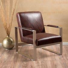Leather Armchair Ebay Living Room Metal Leather Armchairs Ebay