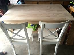 how to stain pine table our custom dining table project the chronicles