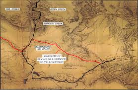 Buffalo Creek Trail Map The Bridger Trail Map Viewer
