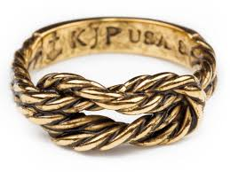 bracelet with ring gold images Antique sailor knot ring gold kiel james patrick jpeg