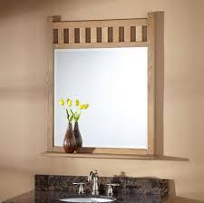 Frame Bathroom Mirror by Bathroom Best Lighted Bathroom Vanity Mirror With Black Frame