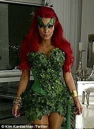 Poison Ivy Halloween Costume Kids Halloween Costumes Celebrities Shows Creations