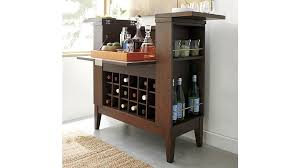 crate and barrel bar cabinet parker spirits bourbon cabinet reviews crate and barrel