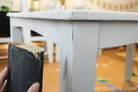 can chalk paint be used without sanding the beginner s guide to distressing with chalk paint by