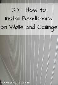 Installing Beadboard Wallpaper - best 25 bead board walls ideas on pinterest bead board bathroom