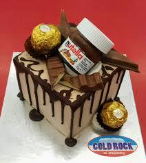 the true birthday cake is a cold rock ice cream cake ice cream
