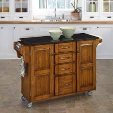 Wheeled Kitchen Islands Locking Casters Kitchen Islands Carts Hayneedle