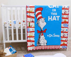 Cat In The Hat Crib Bedding Set Dr Seuss Baby Sheet Cat In The Hat Fitted Crib Sheet Dr