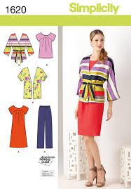 simplicity 1620 misses u0027 u0026 plus size dress u0026 separates