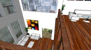 Loft House Design by Loft Style House Design Version 2 Sketchup Model By Chidanand