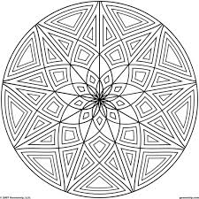 coloring pages geometric pattern coloring pages printable the