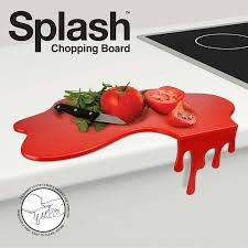 amazon com mustard cutting chopping board worktop saver red