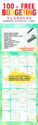 100 free budget templates for financial success home printables