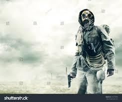 spirit halloween gas mask stock photo environmental disaster post apocalyptic survivor in