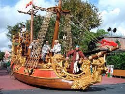nick petronzio sculpture sculpted pirate ship for the pirates and