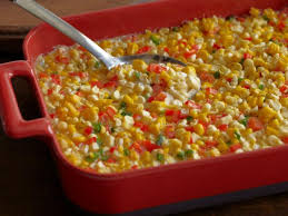 fresh corn casserole with bell peppers and jalapenos recipe