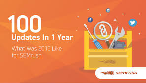 1 year 100 updates 1 000 000 users what was 2016 like for semrush
