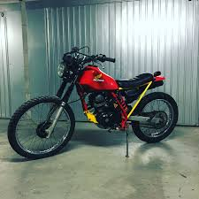 motocross bikes philippines bike feature revolt cycles u0027 honda xl125 u201crvlt08 u201d cafe racer