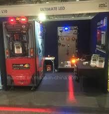 blue warning lights on forklifts china led blue red zone forklift laser warning light on electric