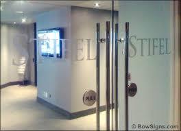 glass door signs calgary interior signs office reception 3d wall door lobby directory