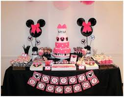 minnie mouse 1st birthday party ideas fantastic minnie mouse 1st birthday decoration birthday party