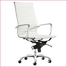 chair White Leather Office Chair Modern White Office Chair Next