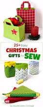 25 diy christmas presents to sew with patterns applegreen cottage