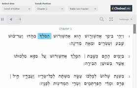 megillat esther online for time megillah reader digital trainer made learning 100