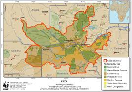 Namibia Map Resources U0026 Publications Map Nacso