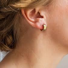 creoles or boucles d oreilles or jaune 9k forme créole vandona ocarat