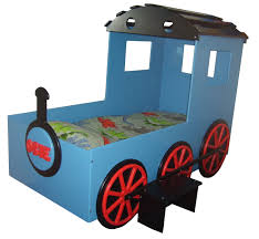 toddler train bed kids train blue boys bed kids themed beds