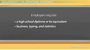 Service Desk Operations Manager Job Description Operations Assistant Job Description U0026 Requirements