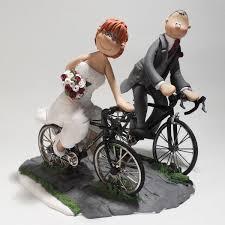 bicycle cake topper custom wedding cake topper bike mania gift bicycle wedding