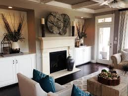 Living Room Mantel Decor Cheap Chic Mantel Ideas Hgtv
