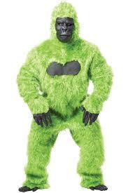 gorilla halloween mask c900 mens gorilla ape monkey colour halloween fancy jungle