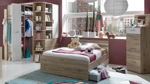 Schlafzimmer Komplett Bett 140x200 Set Joker Bett 140x200 San Remo Eiche Alpinweiß