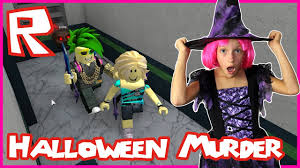 murder mystery halloween style roblox youtube