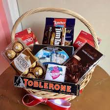 chocolate basket delivery cookies and chocolate basket flower delivery philippines