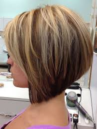 a cut hairstyles stacked in the back photos cute short layered a line bob cut for girls hairstyles weekly