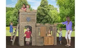 Backyard Cedar Playhouse by Top 10 Best Kids Playhouses 2017