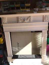 wooden fireplace surround with tiles in rochester kent gumtree
