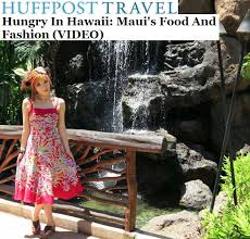 Hawaii travel writing images Writing for huffington post weird news maui fashion video on jpg