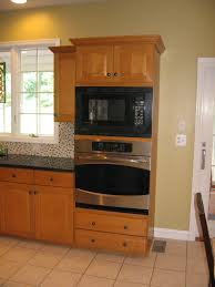 kitchen microwave ideas microwave cabinet built in designs for kitchen remodel ideas