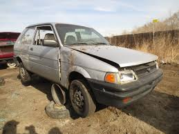 lifted subaru justy junkyard find 1993 subaru justy the truth about cars