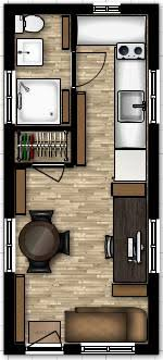small home floor plans with loft 8 x 19 tiny house floor plans with loft above stairs or