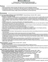 Sample Resume Information Technology by Sample Scannable Resume Information Technology Manager