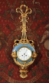 beautiful clocks gilt brass and toleware french antique cartel wall clock from