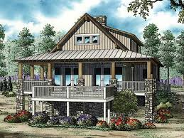 living room southern living cabin plans