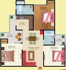 600 sq ft apartment floor plan 3 bhk house plan in 1200 sq ft